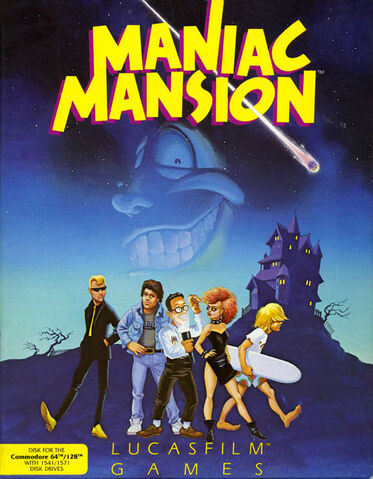 File:Maniac Mansion C64 cover.jpg