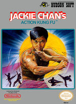 Jackie Chans Action Kung Fu NES cover