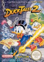 Duck Tales 2 NES cover