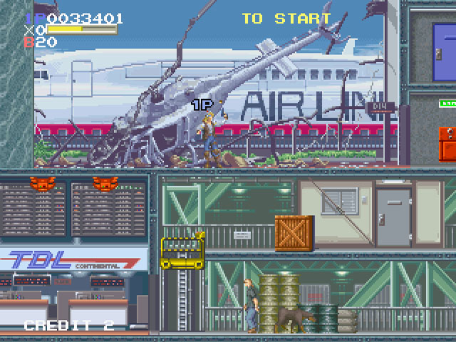 File:Elevator Action Returns arcade screenshot.jpg