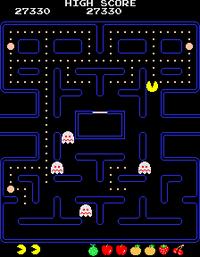 Pac Man arcade screenshot