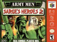 Army Men Sarges Heroes 2 N64 cover