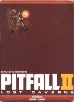 Atari 2600 Pitfall 2 box art