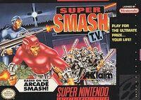 Super Smash TV SNES cover