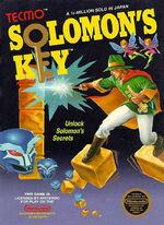 Solomons Key NES cover