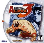 Street Fighter Alpha 3 cover Sega Dreamcast