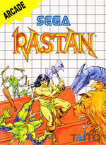 Rastan SMS box art