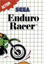 Enduro Racer SMS box art