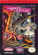 Might and Magic NES Cover