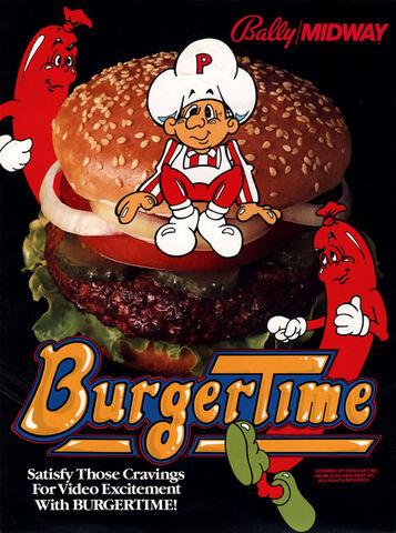File:BurgerTime arcade flyer.jpg