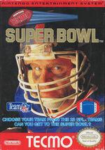 Tecmo Super Bowl NES cover