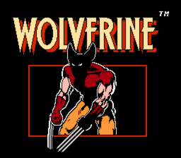 Wolverine NES title screen