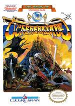 Magic of Scheherazade NES cover
