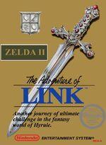 Zelda 2 NES cover