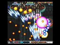 T-20605G 10,,Sega-Saturn-Screenshot-10-Batsugun-JPN