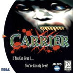 Carrier Dreamcast cover