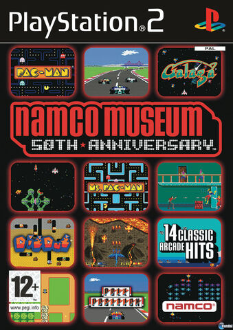 File:Namco Museum 50th Anniversary PS2 cover.jpg