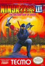 Ninja Gaiden 3 NES cover