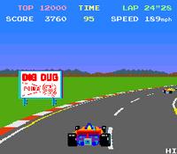 Pole Position arcade screenshot