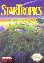 StarTropics NES cover
