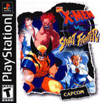 X-men vs street fighter front