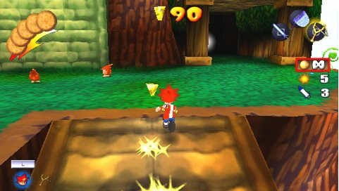 File:Ape escape on the loose psp screenshot.jpg