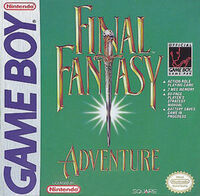 Final Fantasy Adventure Front Cover