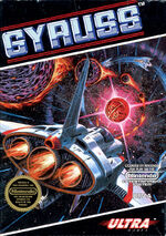 Gyruss NES cover