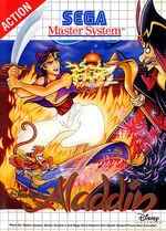 Aladdin SMS box art