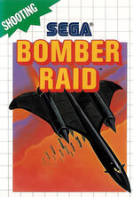 Bomber Raid SMS box art