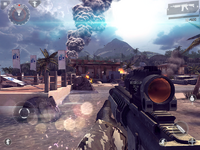 Modern Combat 4 Android screenshot