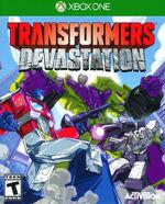 Transformers Devastation Xbox One cover