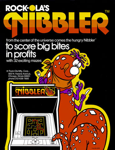 File:Nibbler arcade flyer.jpg