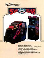 Sinistar arcade flyer