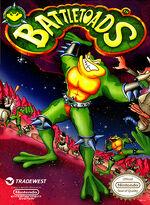 Battletoads NES cover