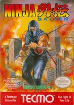 Ninja Gaiden NES cover