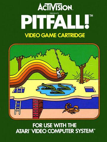 File:Atari 2600 Pitfall box art.jpg