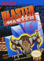Blaster Master NES cover