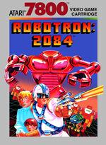 Robotron 2084 Atari 7800 box