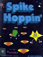Spike Hoppin Vectrex cover