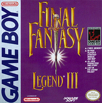 Final Fantasy Legend III Coverart