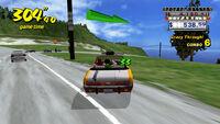 Crazy Taxi iOS screenshot