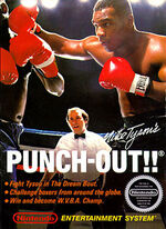 Mike Tysons Punch-Out NES cover