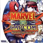 Marvel VS Capcom Dreamcast cover