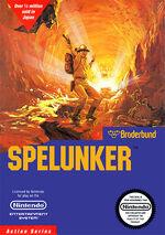 Spelunker NES cover