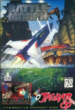 Battlemorph Atari Jaguar CD cover