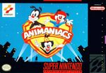 Animaniacs SNES Box Art