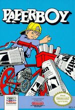 Paperboy NES cover