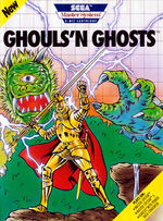 Ghouls n Ghosts SMS box art