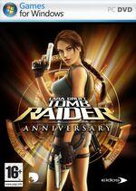 Lara Croft Tomb Raider Anniversary PC DVD ROM EID Coperta